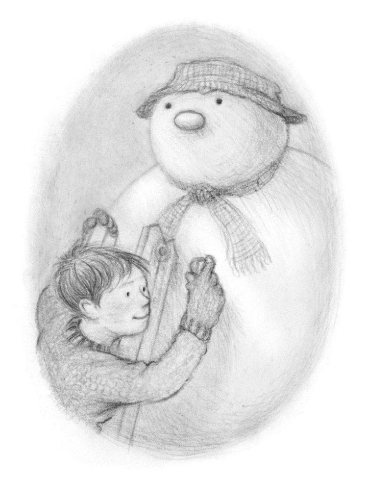 Дитяча різдвяна книга Сніговик Майкла Морпурго