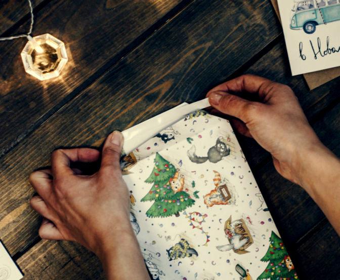 Ідеї пакування книг у подарунок